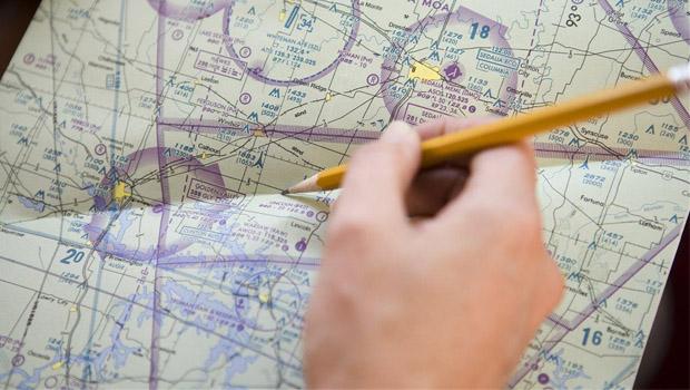 LAPL/PPL Practice Navigation Exam